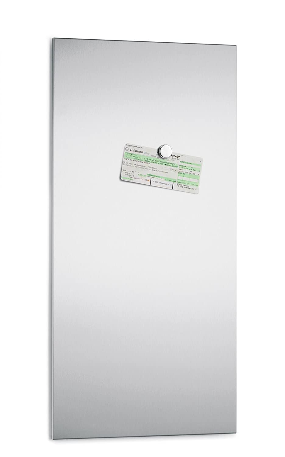 stainless steel dry erase boards clean and strong  - blomus magnet board  x  cm blomus stainless steel