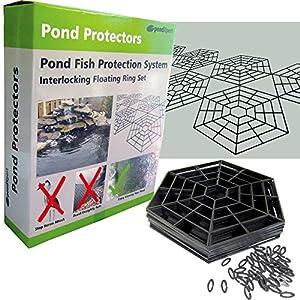Pondxpert pond protector floating fish pond net for Koi pond protection
