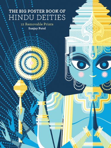 the-big-poster-book-of-hindu-deities-12-removable-prints