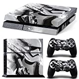 PlayStation 4 Designfolie Sticker Skin Set für Konsole + 2 Controller - Skeleton