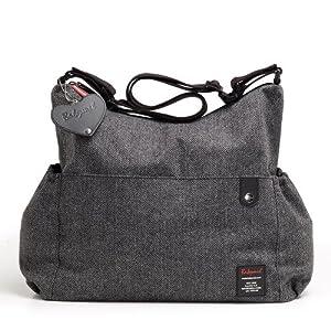 Babymel 1405 Sac à Langer - Big Slouchy Grey Tweed
