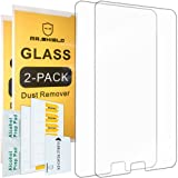 [2-PACK]-Mr Shield For Samsung Galaxy Tab A 7.0 [Tempered Glass] Screen Protector [0.3mm Ultra Thin 9H Hardness 2.5D Round Edge] with Lifetime Replacement Warranty