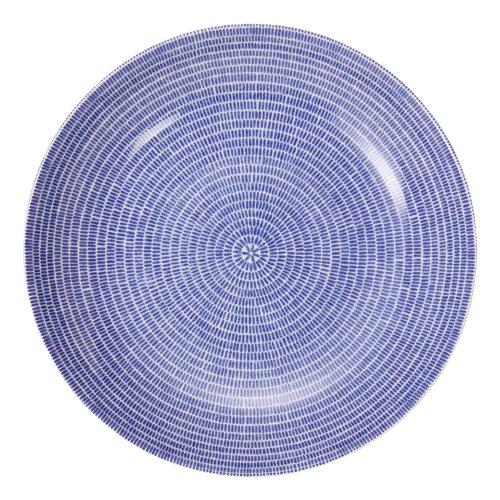 【Arabia】アラビア【フィンランド北欧食器】24hAvec(008285)パスタ/サラダプレート(皿)Pasta/saladplate24cmBlueブルー 並行輸入品
