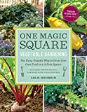 img - for One Magic Square Vegetable Gardening: The Easy, Organic Way to Grow Your Own Food on a 3-Foot Square book / textbook / text book