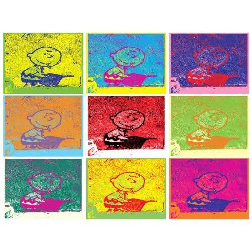 Amazon.com: Banksy (Reproduction) CHARLIE BROWN POP ART ANDY WARHOL 42