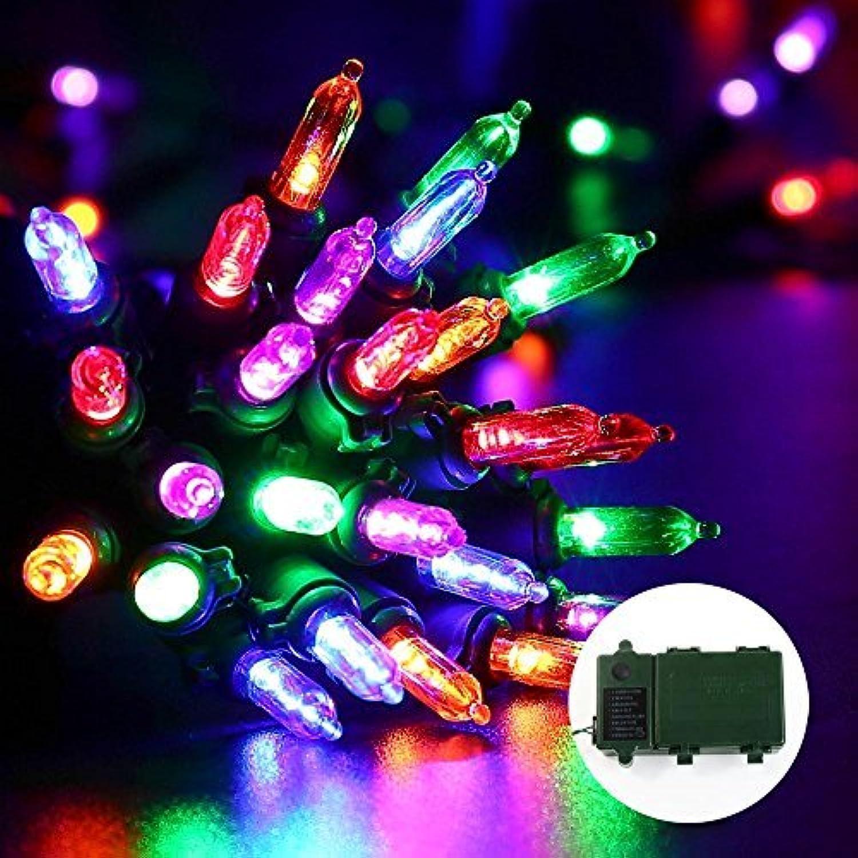 50 Foot Outdoor Christmas Patio Mini Light String Lights-Set of 100 Mini Lights - EverAfterGuide.com
