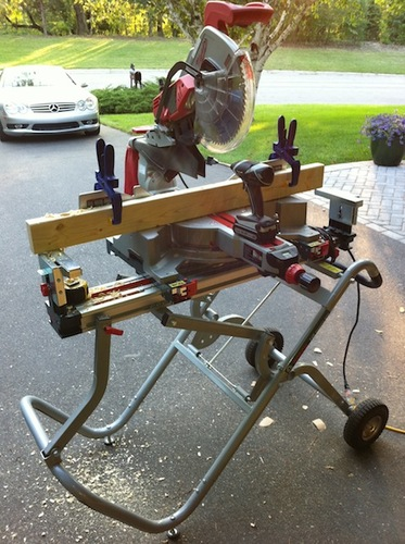 Milwaukee 6955 20 12 inch sliding dual bevel miter saw for 12 inch portable table saw