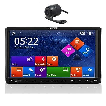 eincar 17,8cm en bord de Navigation Voiture lecteur DVD vidéo audio radio stéréo Win 8Système GPS l'autoradio Bluetooth mains libres pour appareil photo Calling capacitif écran Multi-Touch