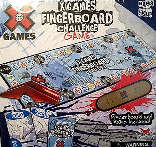 XGAMES Fingerboard Challenge Game