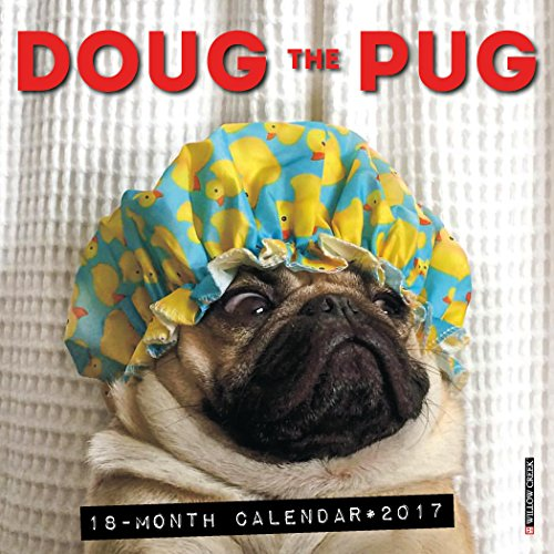 2017 Doug the Pug Mini Wall Calendar