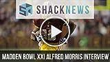 Madden Bowl XXI Alfred Morris Interview