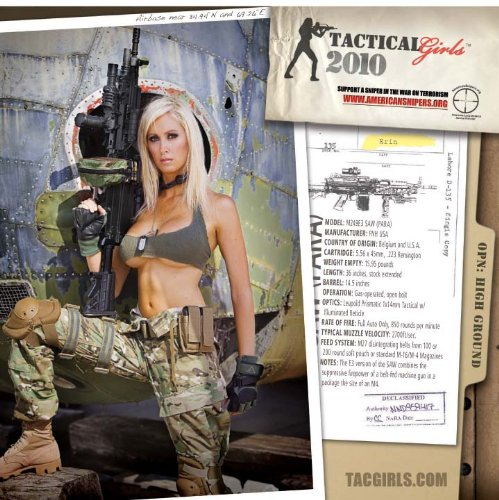 Tactical Girls 2010 Gun Calendar