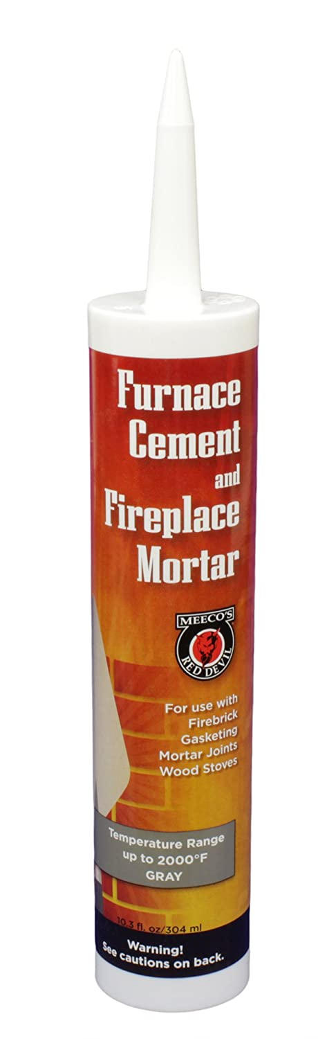 Meeco Furnace Cement Adhesive Sealer Fireplace Brick