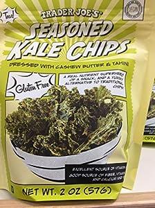 Trader Joe's Seasoned Kale Chips (Pack of 2)