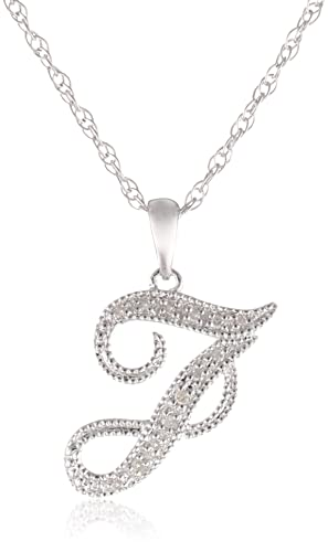Sterling-Silver-Diamond-Pendant-Necklace-0-02-cttw-I-J-Color-I2-I3-Clarity-18-