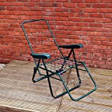 Alfresia Garden Relaxer Chair Frame in Green