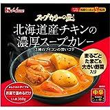 スープカリーの匠 北海道産チキンの濃厚スープカレー 中辛 360g フード カレー カレーレトルト [並行輸入品]