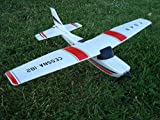 RADIO CONTROLLED RC PLANE 2.4GHZ 3 CHANNEL CESSNA F949 AIRCRAFT