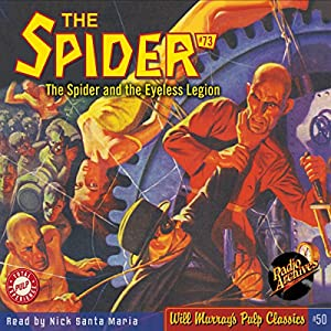 Spider #73, October 1939: The Spider | [Grant Stockbridge,  Radio Archives]