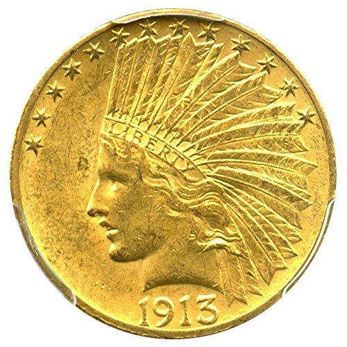 1913 10 dollar gold coin