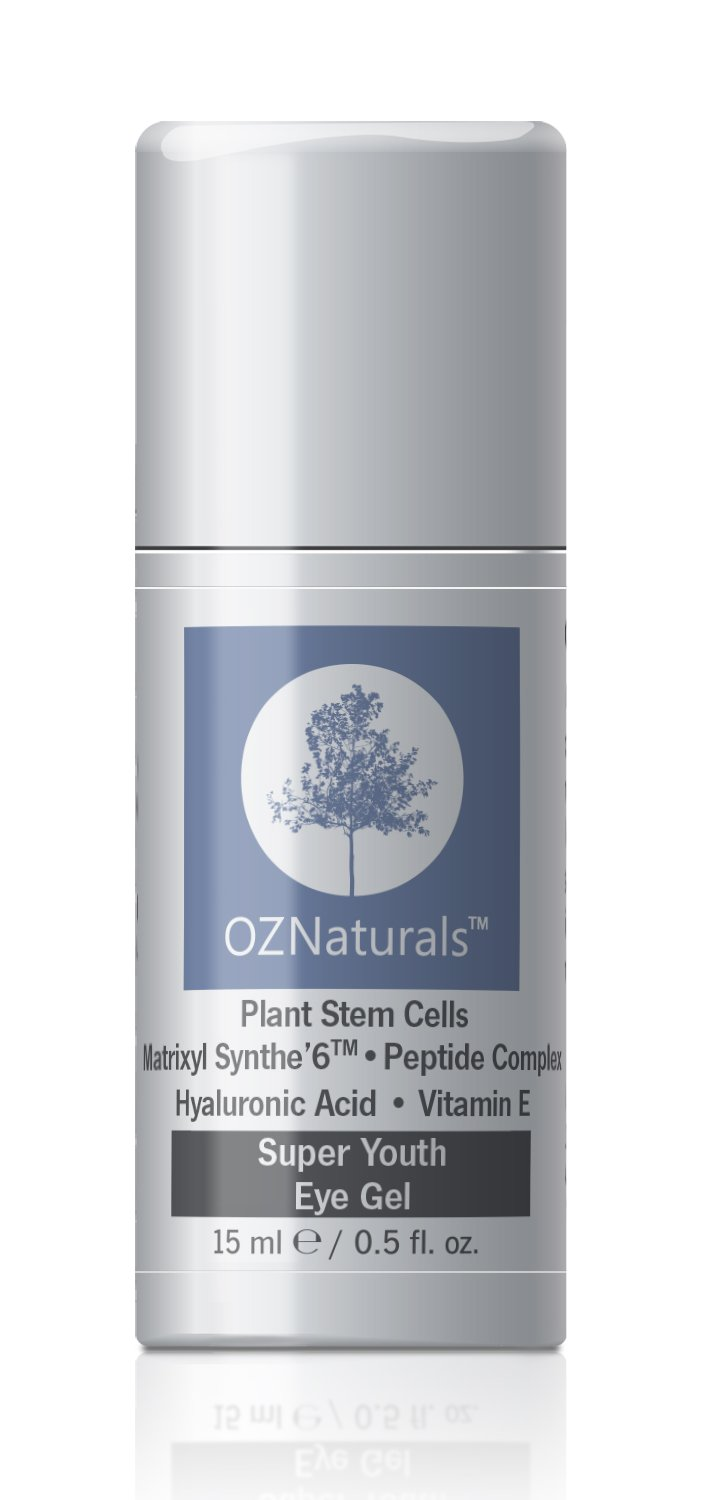 OZNaturals Eye Gel - Eye Cream For Dark Circles, Puffiness, Wrinkles - This Anti Wrinkle Eye Gel Was Voted ALLURE MAGAZINE