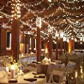 NEW Solar Power 39ft/12m 100 LEDs 8 Modes String Lights for Garden Home Party Bedroom Xmas Outdoor Decorations