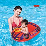 Ginzick Babies Kids Swimming Inflatable Car Float Without Leg Holes (Colors Vary)