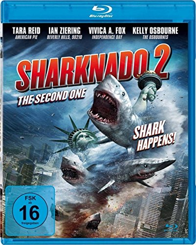 SHARKNADO 2 - The Second One - Sharks Happens ( UNCUT - Blu-ray)