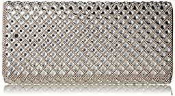 Aldo Wildin Envelope Clutch, Bone, One Size