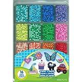Perler Fused Bead Tray 4000/Pkg-Stripes 'n Pearls