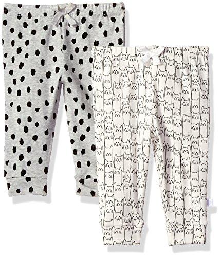 Rosie Pope Baby 2 Pack Pants, Pink/Grey Multi, 6-9 Months