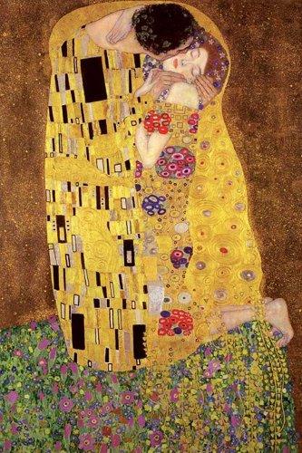 """Poster """"Gustav Klimt, Il bacio"""" + accessori multicolore"""
