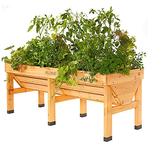 hochbeet vegtrug gro inkl pflanzvlies europaletten kaufen. Black Bedroom Furniture Sets. Home Design Ideas