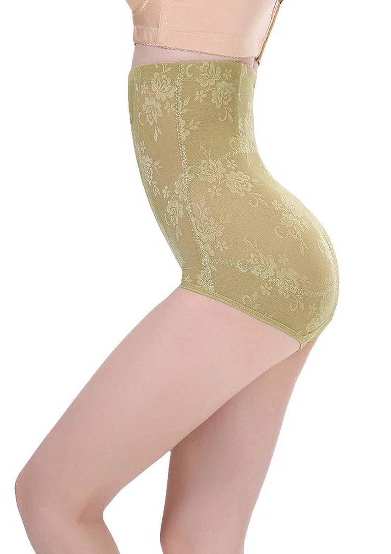 Bigood 1*Miederbody Damen Miederpants Body Miederslips Shapewear Body Hoch Hose Hoch Taille Grun kaufen