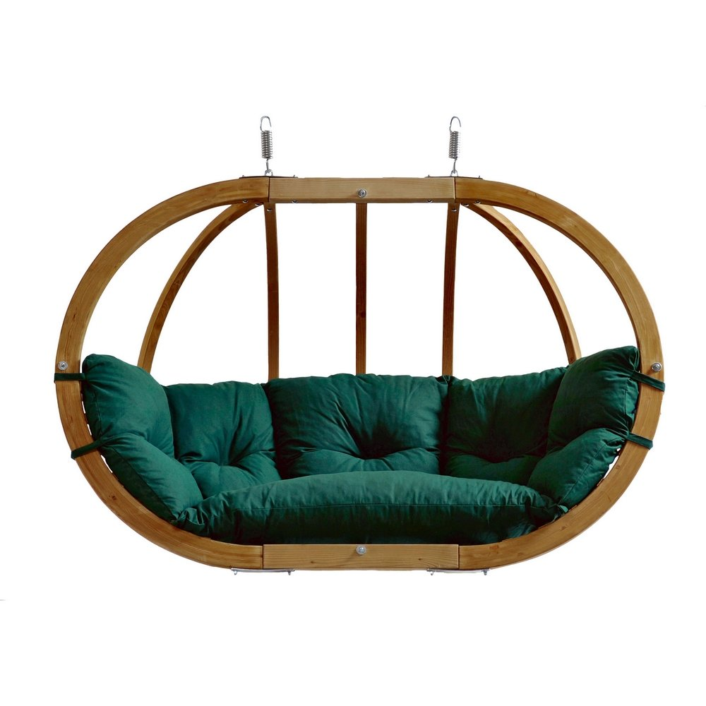 Amazonas Kugelgestell Hängesessel Globo Royal Chair green weatherproof