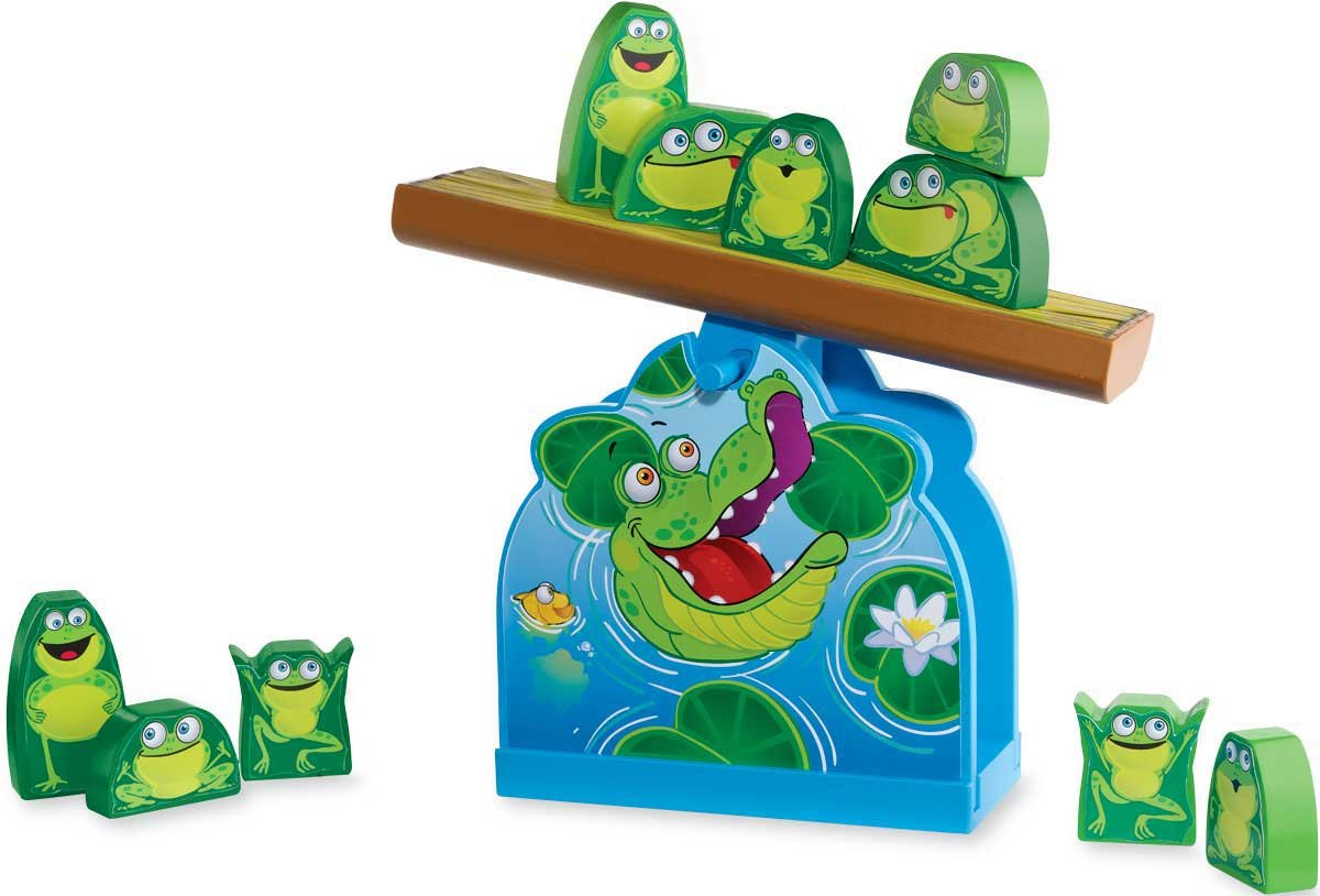 Frog Wobble balancing game