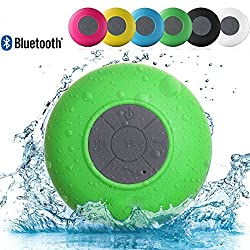 Link Plus Water Resistant Bluetooth Shower Speaker Assorted Color For Moto G Turbo Edition