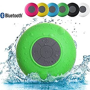 Link Plus Water Resistant Bluetooth Shower Speaker Assorted Color For Panasonic P55 Novo 8GB