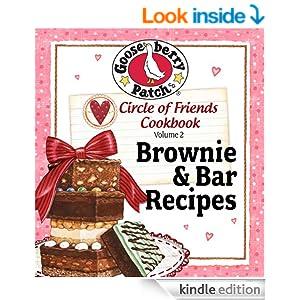 Circle of Friends Cookbook 25 Brownie & Bar Recipes