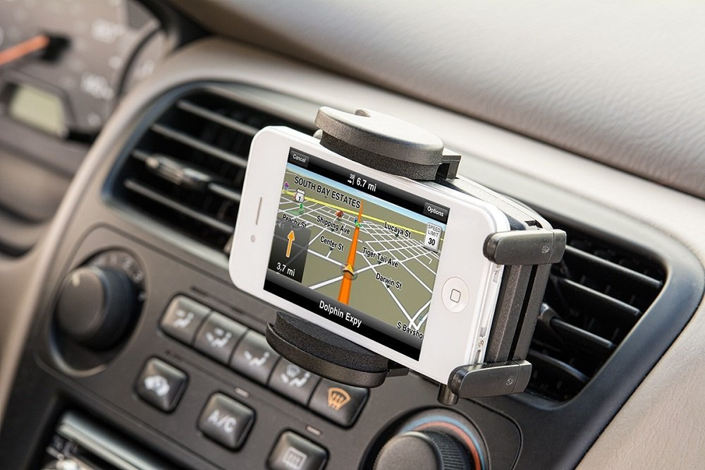 Arkon Air Vent Car Mount Holder for iPhone 5/5S, Samsung Galaxy S5/S4/S3, Galaxy Note 3, LG G2, HTC One Smartphones