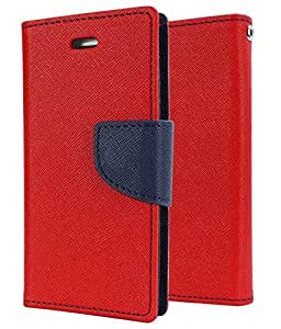 Case Design Mercury Flip Cover For Xioami Mi4 -Red
