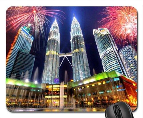 petronas-twin-towersmalaysia-mouse-pad-mousepad-skyscrapers-mouse-pad