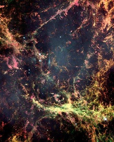 Hubble Space Telescope Crab Nebula 8X10 Silver Halide Photo Print