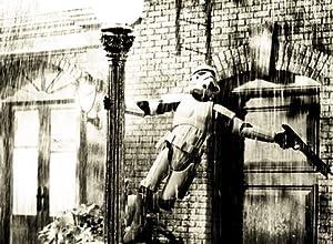 "imagenation Starwars - Stormtrooper Singing In The Rain - 100% Cotton Framed Canvas Art Print : Size - 34CM X 47CM X 5CM DEPTH / 13.5"" X 18.5"" X 2"""