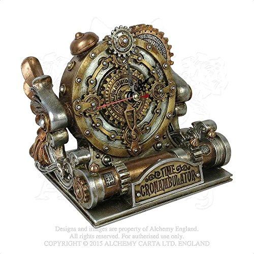 Adventurer's Clockwork Time Machine Chronambulator Desk Clock