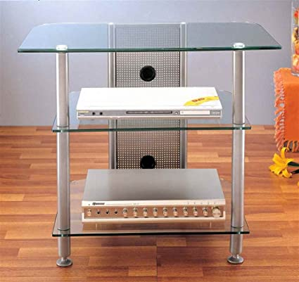 "AGR Series 30"" TV Stand Color: Silver"