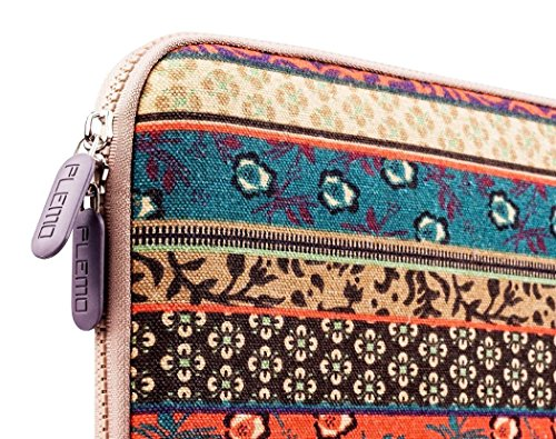Plemo 13-13.3 Inch Bohemian Style Laptop Sleeve Case Bag for MacBook Air / 13.3-Inch Laptops / Notebook