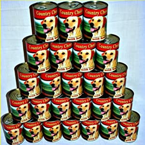Country Choice Value Complete Beef Tinned Wet Dog Food (24 x 400g)