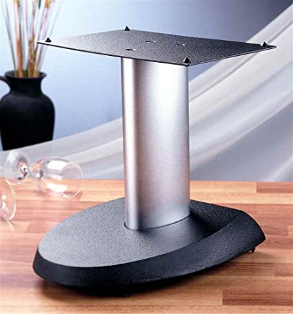 VSP Series Aluminum Center Speaker Stand in Black