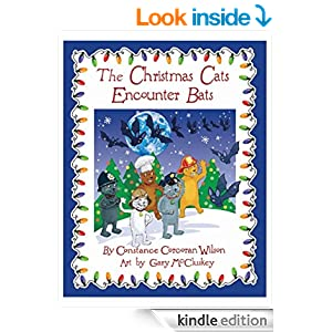 christmas cats book cover